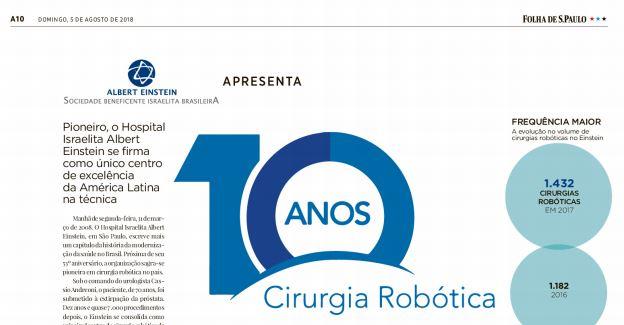 10 Anos de Cirurgia Robótica | Dr. Cássio Andreoni